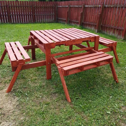 Pallet Garden & Home Furniture   Pallet Furniture   Wooden ...